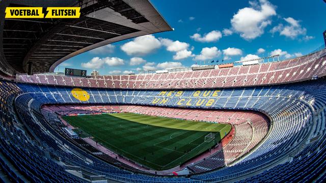 Camp Nou, het stadion van Barcelona