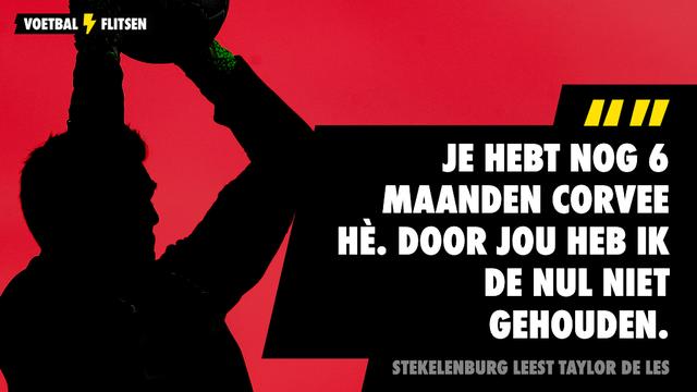 stekelenburg leest taylor de les bij ajax