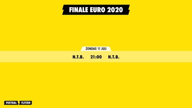 Finale Euro 2020 ek voetbal 2021
