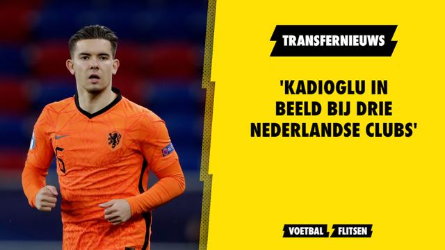 Ferdi Kadioglu drie Eredivisie-clubs Nederland transfernieuws