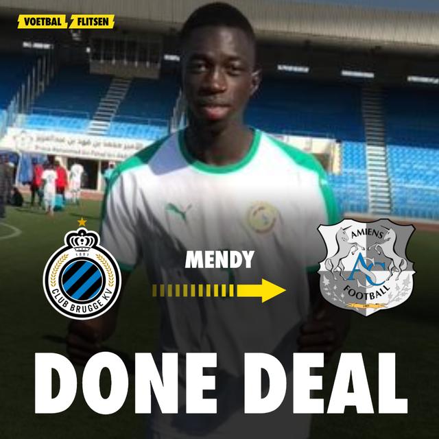Transferdeal Club Brugge Formose Mendy