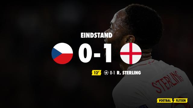 tsjechie-engeland ek voetbal uitslag scoreverloop 0-1