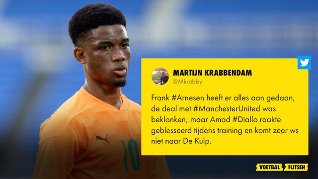 Amad Diallo Manchester United Feyenoord Martijn Krabbendam