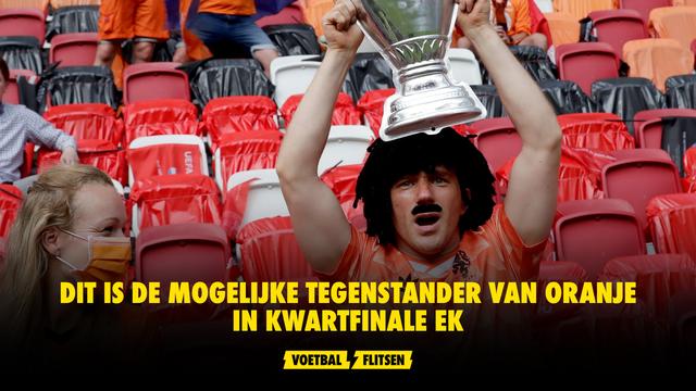 Dit is de mogelijke tegenstander van Oranje in kwartfinale EK