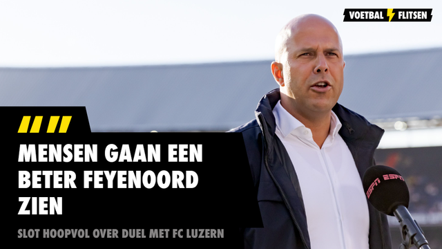 Arne Slot Feyenoord FC Luzern Conference League
