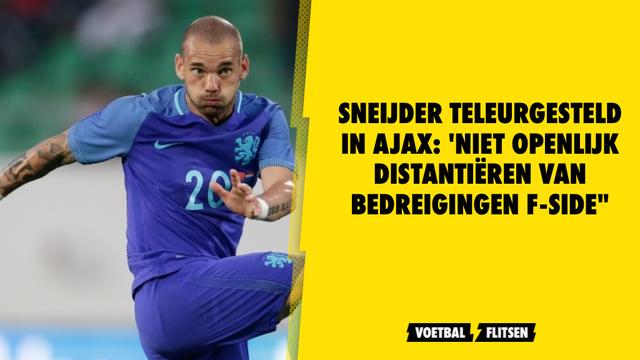 fc utrecht-fan sneijder reactie over ruzie met f-side van ajax