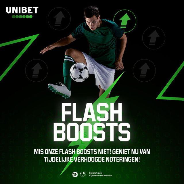 flash boost unibet