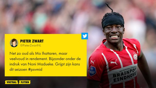 PSV tegen FC Midtjylland madueke is de uitblinker