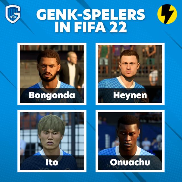 Genk-spelers in FIFA 22