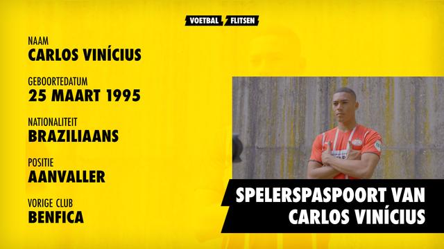 spelerspaspoort, cv Carlos Vinicius, psv