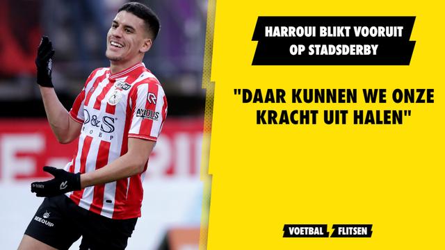 Abdou Harroui Sparta Rotterdam Feyenoord play-offs