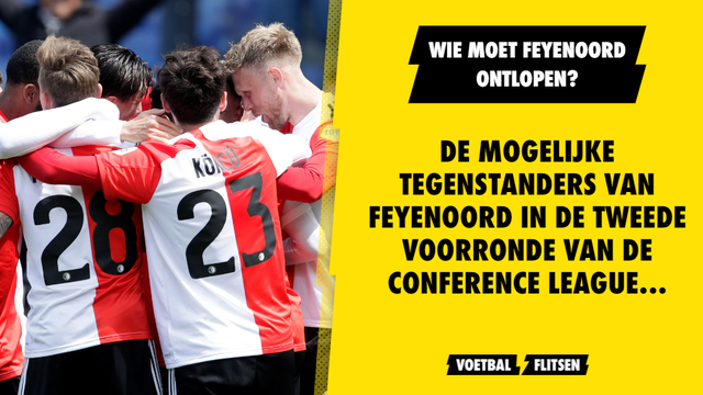 Feyenoord loting Conference League