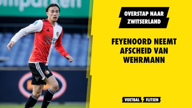 Jordy Wehrmann Feyenoord overstap FC Luzern