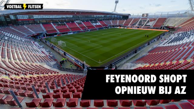 Feyenoord AZ Van Eijk Joost van der Hoek