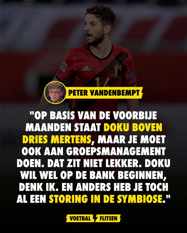 Peter Vandenbempt over Doku en Mertens