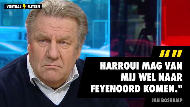 Jan Boskamp: Harroui mag van mij wel naar Feyenoord komen