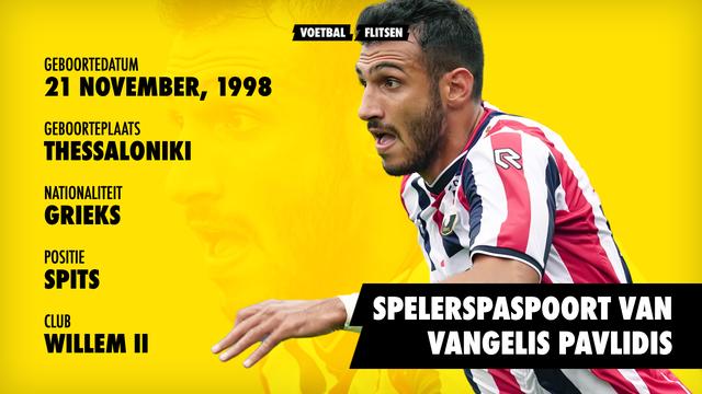 Spelerspaspoort Vangelis Pavlidis Profiel, geboren, nationaliteit, club, leeftijd