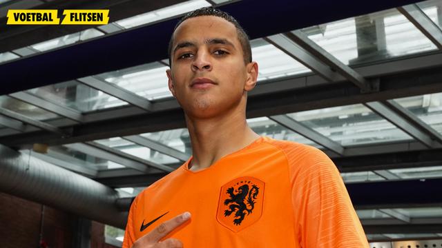 mo ihattaren met jong oranje op europees kampioenschap tegen frankrijk