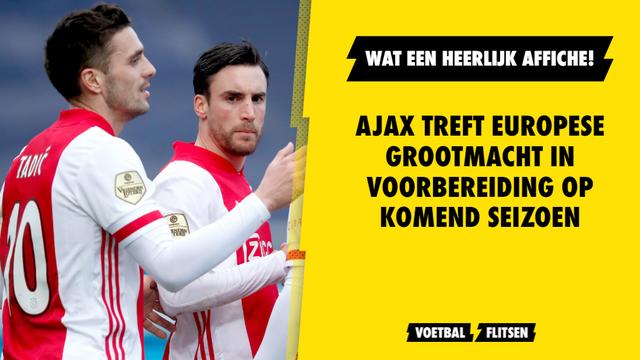 Ajax treft absolute toptegenstander in voorbereiding op komend seizoen bayern