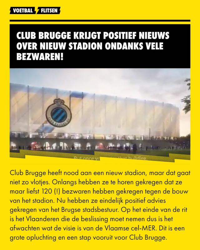 Club Brugge nieuw stadion