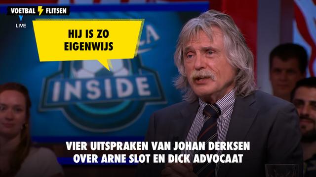 Johan Derksen over Arne Slot en Dick Advocaat