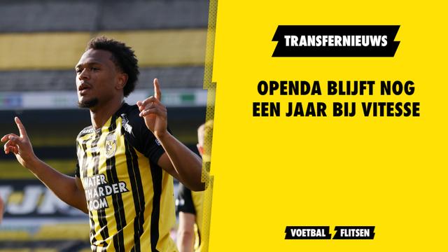 Loïs Openda langer bij Vitesse Club Brugge huur