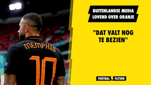 Oranje Nederlands elftal Euro 2020 EK buitenlandse kranten en media