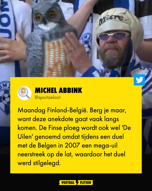 Dit is waarom de Finse ploeg ook wel 'De Uilen' worden genoemd