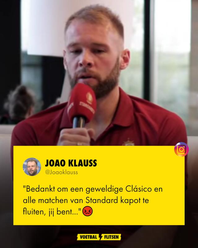 Joao Klauss over Nicolas Laforge