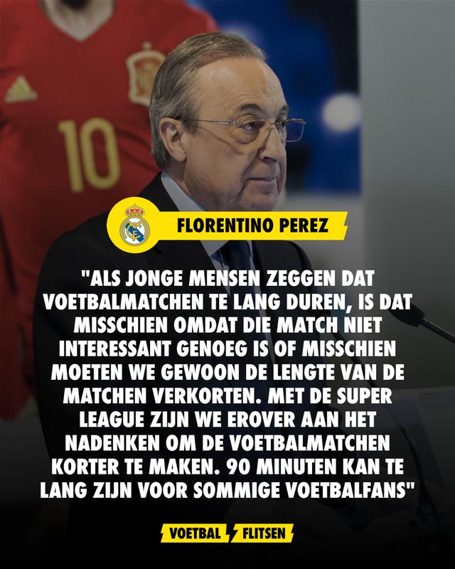 Florentino Perez super league