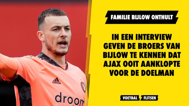 """Feyenoord Familie Justin Bijlow wees Ajax meteen afen"""""""