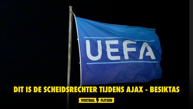 Scheidsrechter Ajax Besiktas Uefa