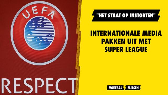 internationale media over de super league
