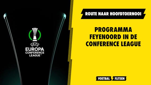 Conference League Feyenoord programma