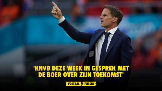 Frank de Boer NOS KNVB toekomst evaluatie