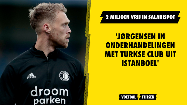 'Jørgensen in onderhandelingen met Turkse club uit Istanboel'