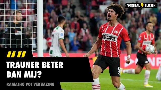 André Ramalho PSV over Gernot Trauner Feyenoord