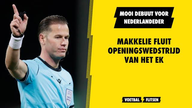 Danny Makkelie scheidsrechter openingswedstrijd EK Euro 2020