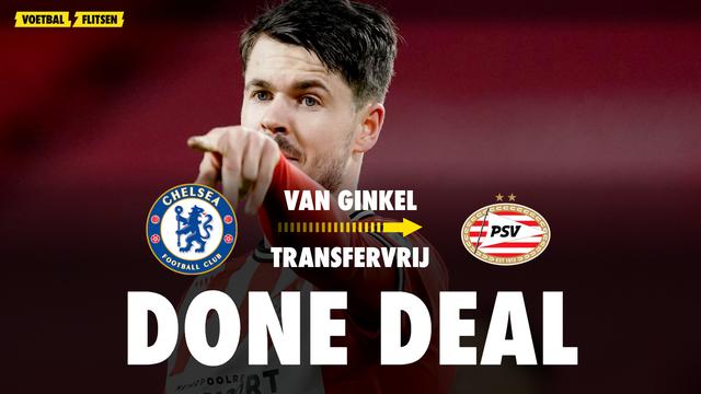 Marco van Ginkel tekent contract bij PSV