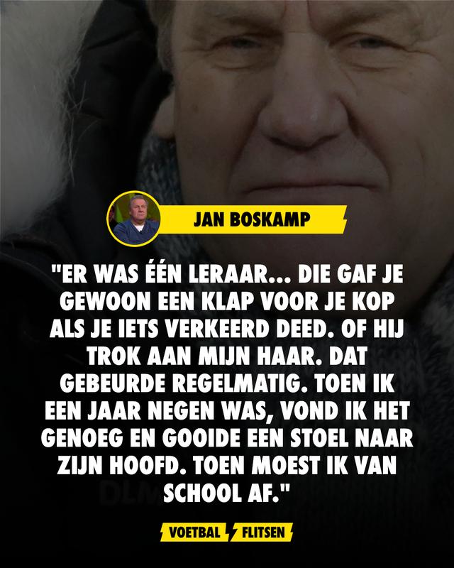 jan boskamp over overleden vrouw jenny en werd van school gestuurd