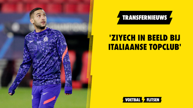 Hakim Ziyech Chelsea transfernieuws in beeld bij AC Milan