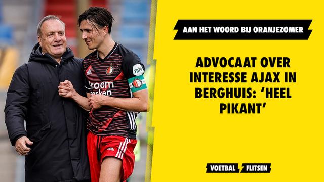 Advocaat over interesse Ajax in Berghuis: 'Heel pikant'