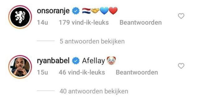 Ibrahim Afellay Ryan Babel FC Barcelona Instagram LaLiga