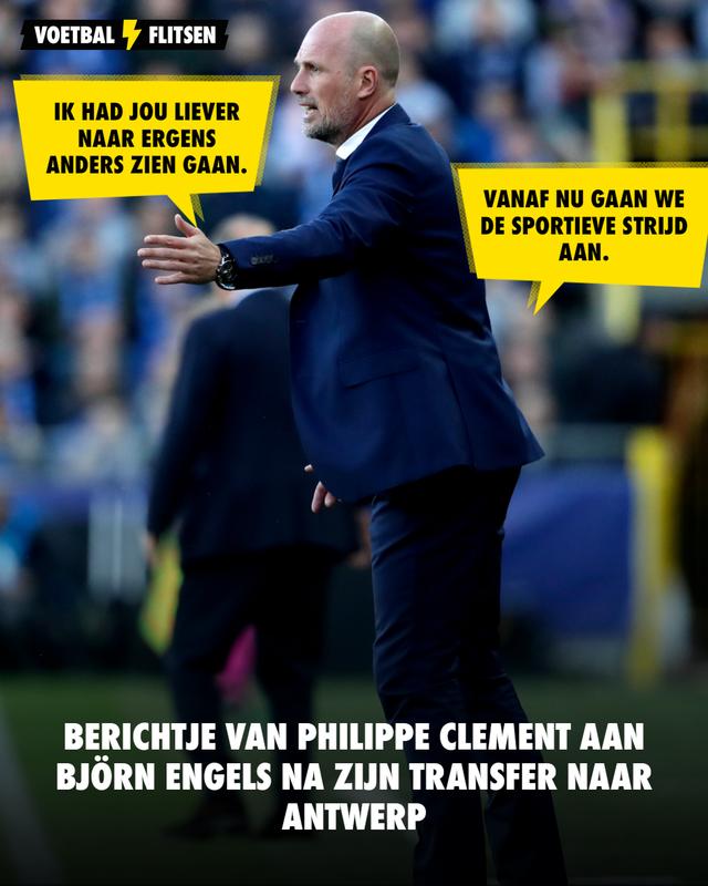 Björn Engels Antwerp Club brugge philippe clement transfer