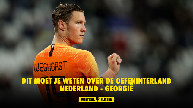 weghorst nederlands elftal oranje