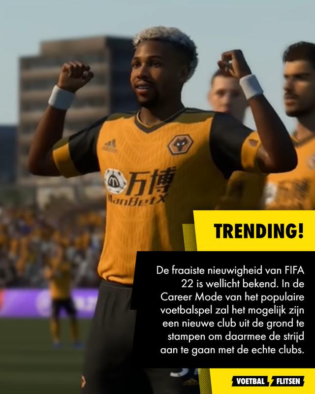 Career Mode FIFA 22