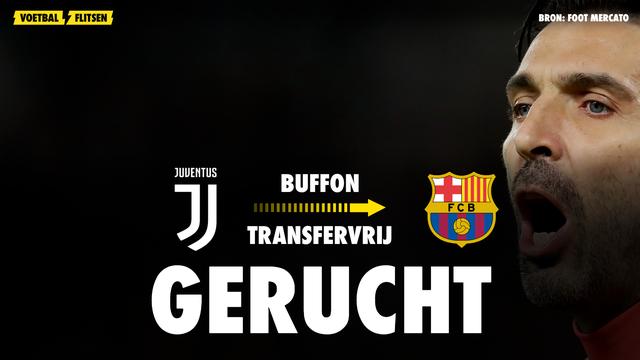 gerucht Koeman haalt Buffon naar Barcelona