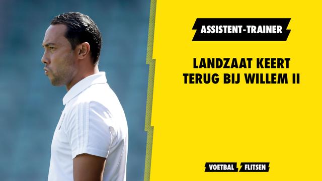 Denny Landzaat assistent-trainer Willem II oude liefde