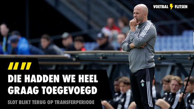 Arne Slot Feyenoord transferperiode Micky van de Ven
